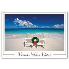 Beachy Holiday Card