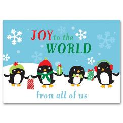 Polar Pals Holiday Card
