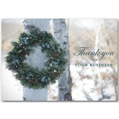 Holiday Thank-you Holiday Card
