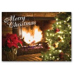 Holiday Hearth Holiday Card