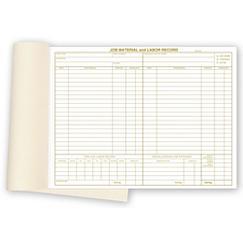 Material and Labor Record, MLRBK01