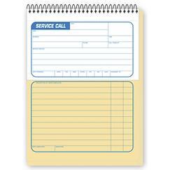 Service Call Slip/Service Order Book, PHBK04