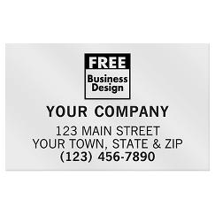 Rectangle 2 x 1 1/4 Paper Label