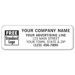 Rectangle 3 x 1 Paper Label