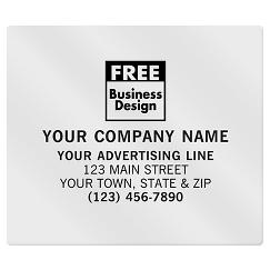 Square Corner 3 1/2 x 3 Paper Label