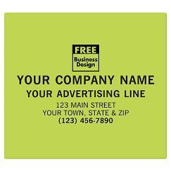Square Corner 5 x 4 1/2 Paper Label