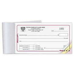 Receipts - Classic Booked Pocket-Size, RECBK05