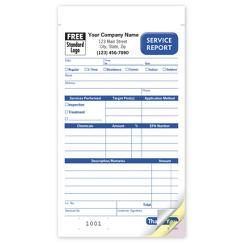 Pest Control Service Order Book, RHS0365