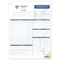 Cleaning Work Order, RHS6527