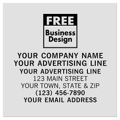 Square 3 x 3 Polyester Label