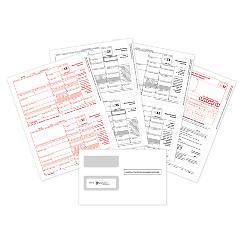 2021 3-pt laser 1099-MISC bundle with envelope, TAX03