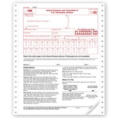 Continuous 1096 Transmittal