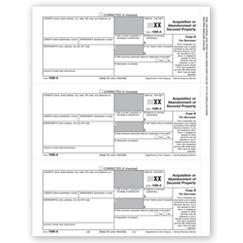 Laser 1099-A Borrower Copy B